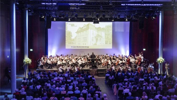 Der Campussaal Brugg-Windisch hat Kapazität für bis zu 900 Gäste. AZ Archiv/Sandra Ardizzone