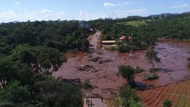 Nach Dammbruch in Brasilien zwei Mitarbeiter von TÜV Süd verhaftet
