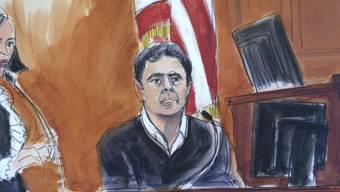 Der türkischer Banker Mehmet Hakan Atilla ist in den USA wegen Beihilfe zur Umgehung amerikanischer Iran-Sanktionen schuldig gesprochen worden. Wann das Strafmass verkündet wird, war zunächst unklar.(Archivbild)