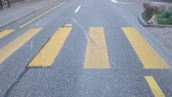 Falsche Gerüchte nach Verkehrsunfall auf Fussgängerstreifen in Nussbaumen (Symbolbild)