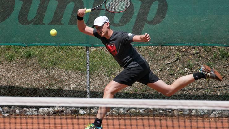 Christoph Kuhn obsiegte im Finalduell mit Christian Wyss.