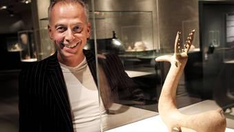 Bis 2016 – dann feiert das Antikenmuseum sein 50-Jahr-Jubiläum – möchte Direktor Andrea Bignasca alle Objekte neu ausstellen.