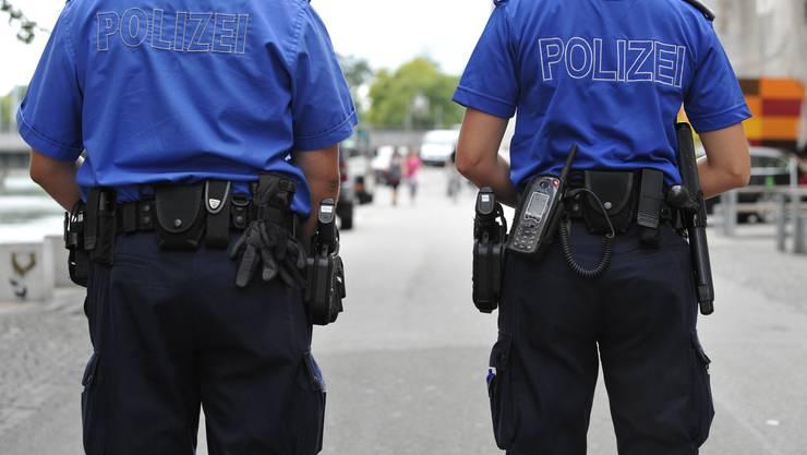 Die Stadtpolizeien (hier Solothurn) wollten mehr Geld für ihre Arbeit. (Archiv)