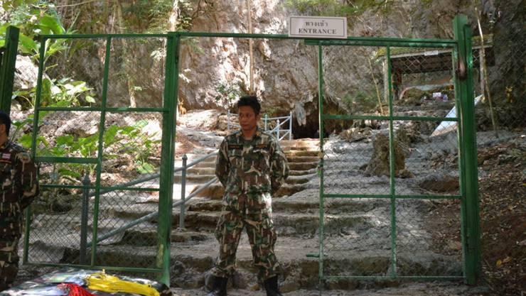 Ist wieder für Besucher frei: die Tham-Luang-Höhle in der thailändischen Provinz Chiang Rai an der Grenze zu Myanmar. (Archivbild)
