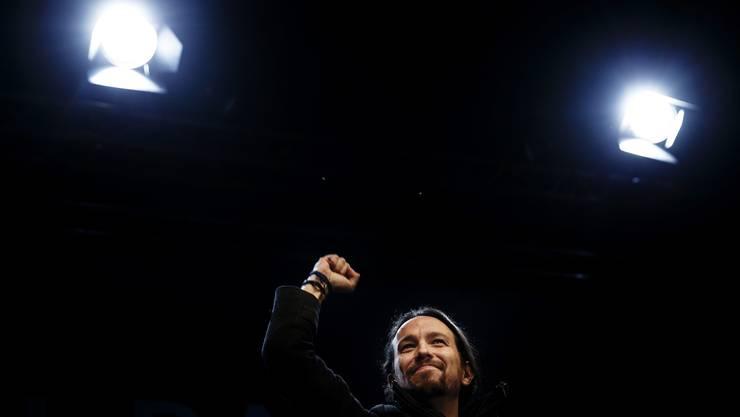Pablo Iglesias, das Enfant terrible der spanischen Politik.