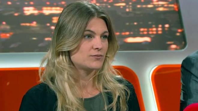Angela Magdici, die bekannteste Gefängniswärterin der Schweiz. Sie verhalf ihrem Geliebten Kiko zur Flucht. Foto: Screenshot
