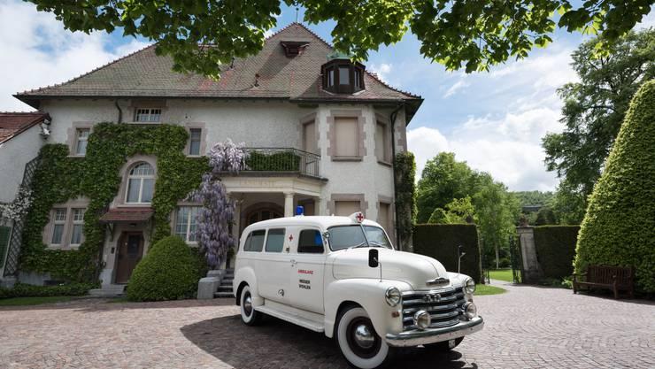 Villa Langmatt, Baden: Im Sanatorium Langmatt können sich Kunstbesessene wie Kunstgeschädigte erholen.