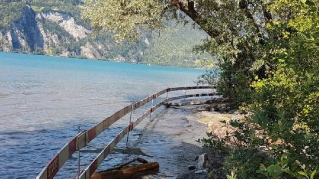 Giftiges Asbest am Walensee entdeckt