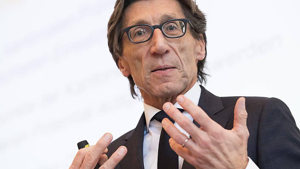 Thomas Heiniger, derzeit noch Gesundheitsdirektor des Kantons Zürich, soll Ende Juni neuer Präsident des Schweizerischen Roten Kreuzes (SRK) werden. (Archivbild)
