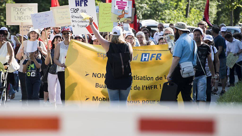 Spital Freiburg trifft Vereinbarung zur Regelung von Streiks