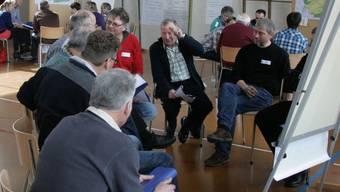Ehrendinger schmieden Pläne für die Zukunft der Gemeinde. (bsc)