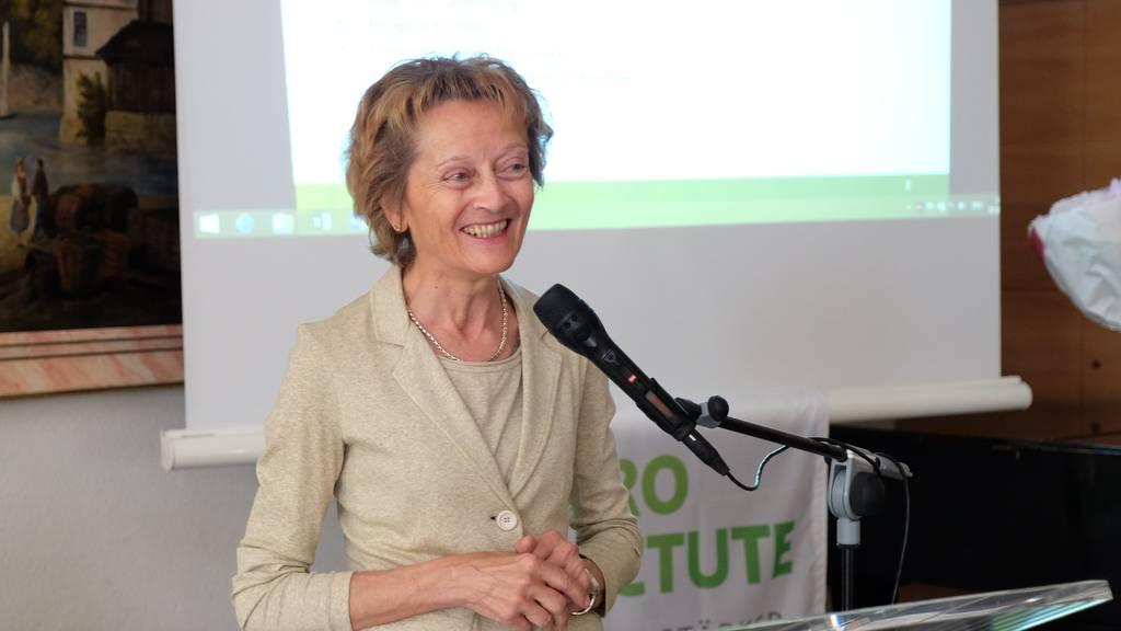 Eveline Widmer-Schlumpf hat gegen Schutzklausel für Alte lobbyiert