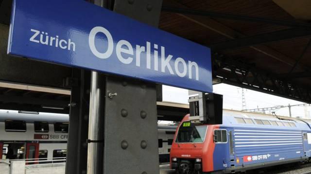 Bahnhof Oerlikon (Archiv)