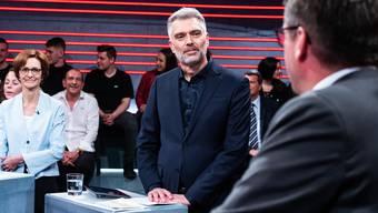 Moderiert seit heute die «Arena»: Sandro Brotz.