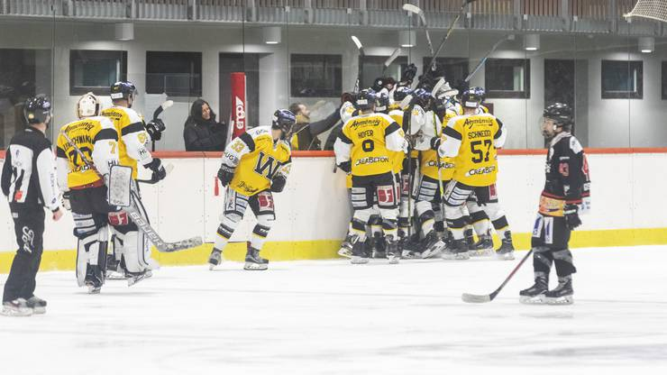 Die Wetziker schenkten den Argovia Stars im ersten Drittel fünf Treffer ein.