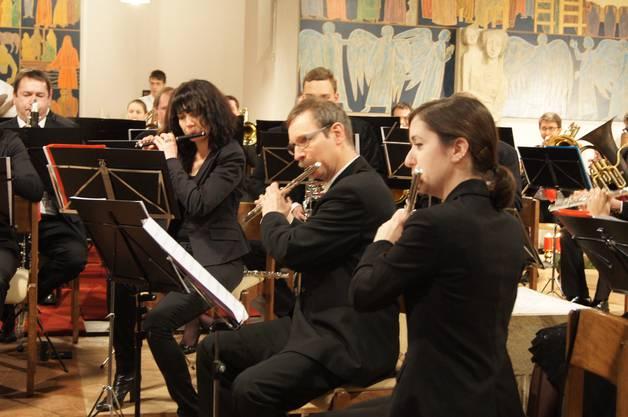 Das Flötenregister interpretiert schwierige Passagen im Tanz der Komödianten