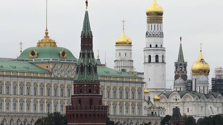 Der Kreml, Sitz der russischen Regierung, in Moskau.