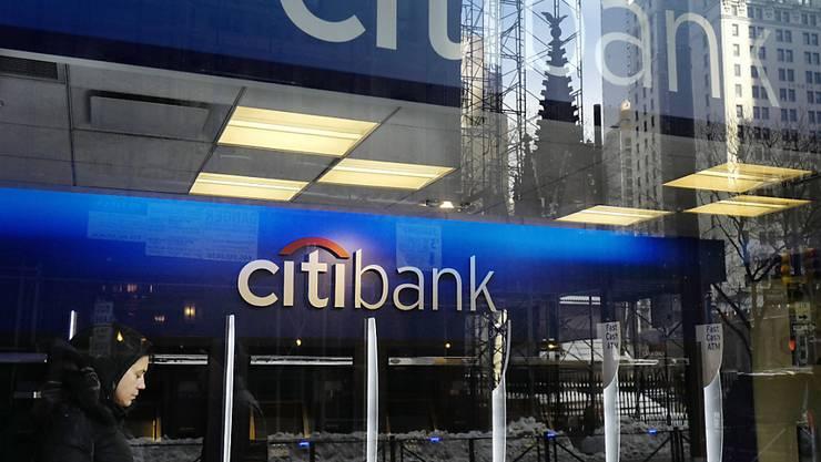 Die Citigroup ist auf Erfolgskurs. Die US-Grossbank steigerte den Gewinn im dritten Quartal deutlich.(Archivbild)