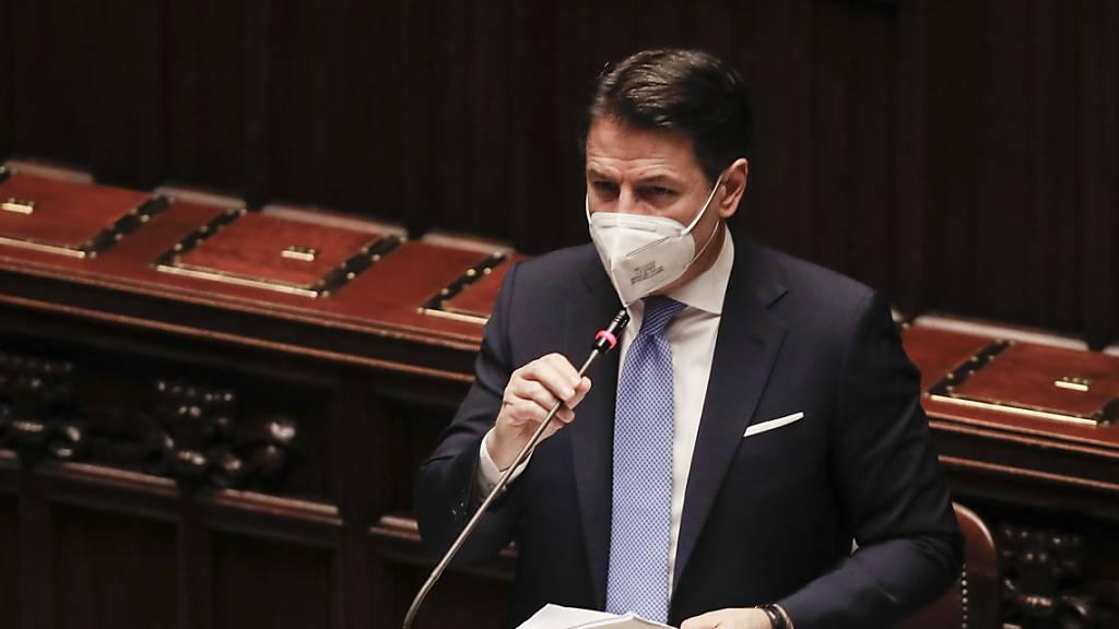 Italiens Premier Conte stellt Vertrauensfrage im Senat