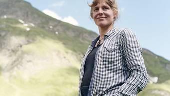 "Autorin und Bäuerin Noëmi Lerch: ""Natur ist kein Konsumgut, das man bei Bedarf abholen kann"". (Keystone/Roland Schmid)"