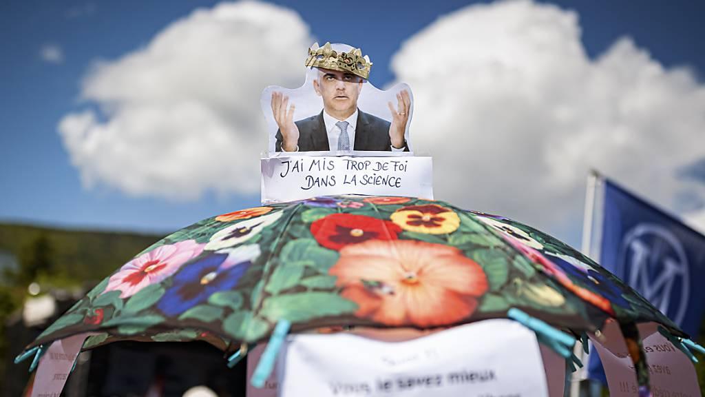 Mehrere Tausend an Kundgebung gegen Corona-Massnahmen