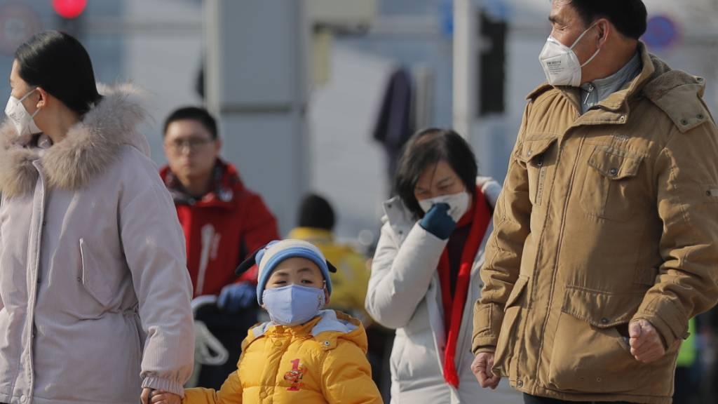 Neue Lungenkrankheit: Zahl der Erkrankungen in China steigt auf 571