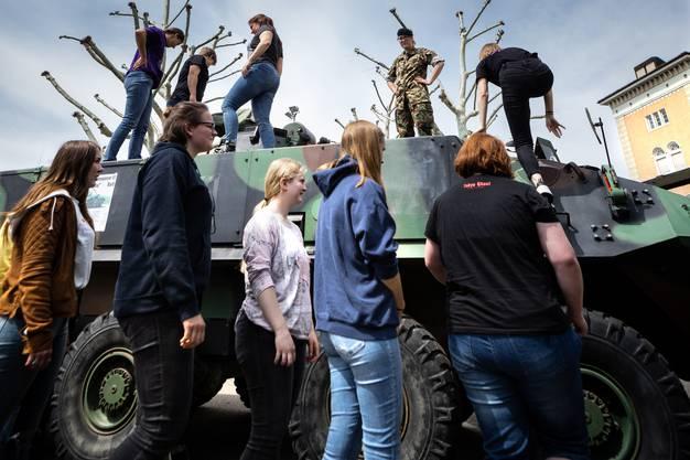Orientierungstag Frauen im Militär, Aarau