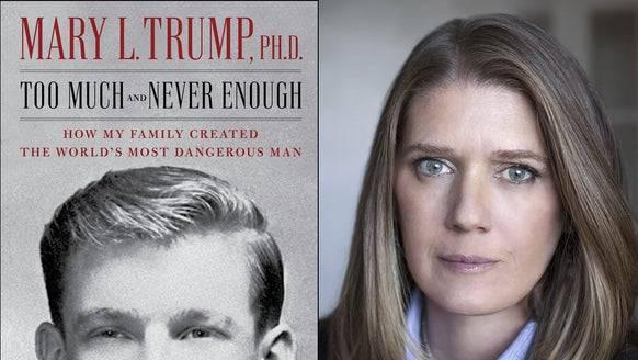 Sorgt für Schlagzeilen: Das Buch von Mary Trump. (Bild: Keystone)