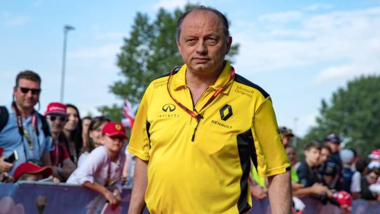 Freédéric Vasseur ist neuer Teamchef bei Sauber