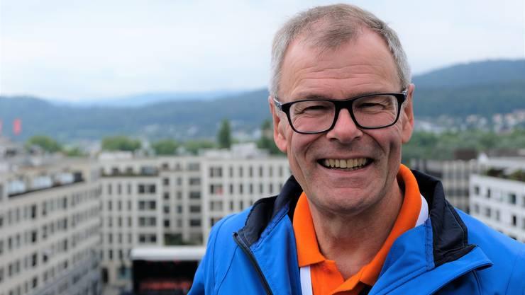 «Ich bin vielen fröhlichen Leuten mit lachenden Gesichtern begegnet», sagt Stadtfest-OK-Präsident und alt Stadtpräsident Otto Müller.