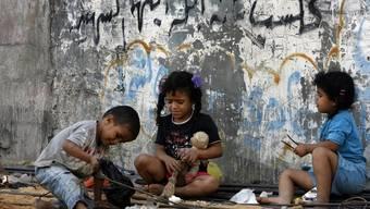 Können auf griechische Hilfe hoffen: Kinder in Gaza (Archiv)