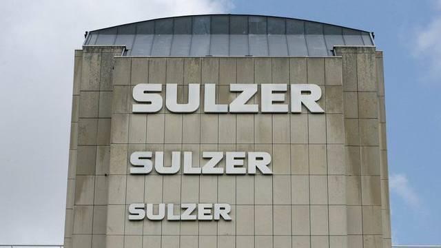 Das Logo der Firma Sulzer am Hauptsitz des Unternehmens in Winterthur im Kanton Zürich (Archiv)