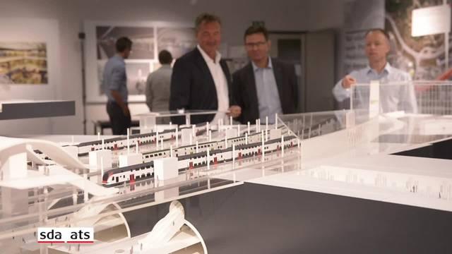 So soll der Hauptbahnhof Bern künftig aussehen