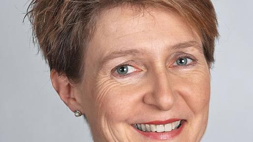 Simonetta Sommaruga wird neue Bundespräsidentin