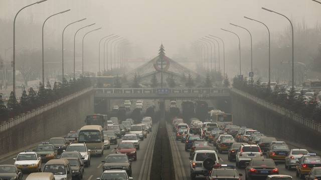 Smog über Peking (Archiv)