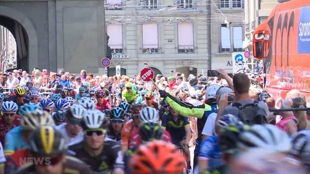 Tour de Suisse verlässt Bern