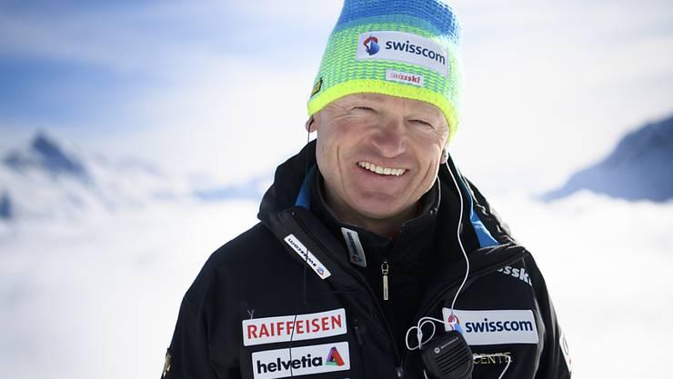 Der Österreicher Hans Flatscher steht seit über zehn Jahren in Swiss-Ski-Diensten