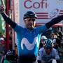 Der spanische Altmeister Alejandro Valverde zeigt sich weiter in guter Form