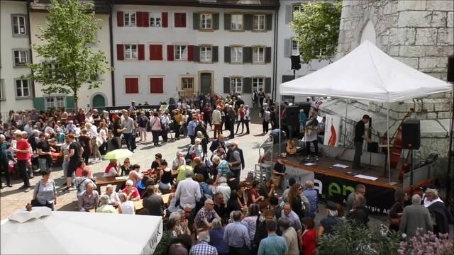 Turmrede von Franz Hohler an den Oltner Kabarett-Tagen 2017