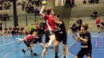Die U15-Junioren des HSG Aargau Ost verlieren knapp gegen Winterthur.