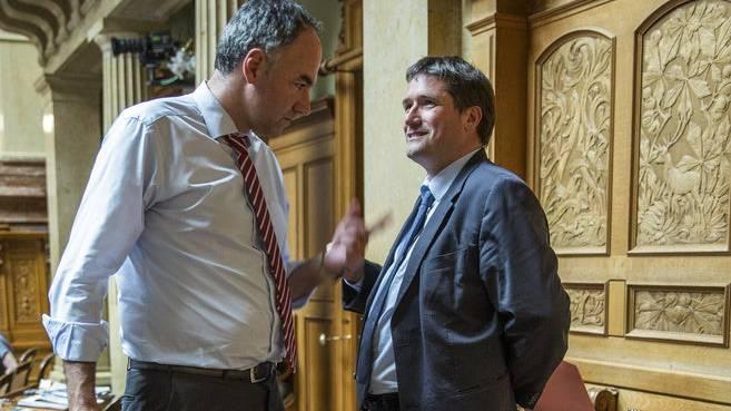 2015 wälzte der damalige CVP-Präsident Christophe Darbellay mit SP-Präsident Christian Levrat Pläne, die SVP aus der Regierung zu kippen.