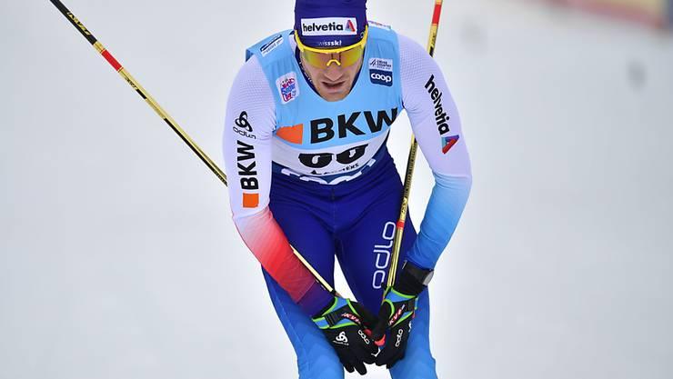 Kann mit seinem Rennen nicht zufrieden sein: Dario Cologna
