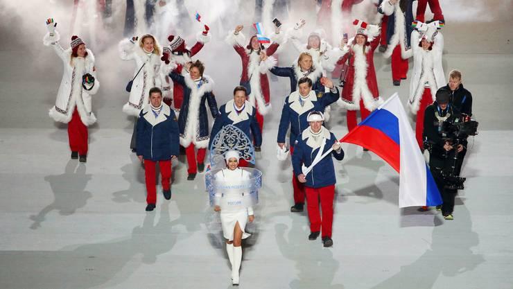 Am Schluss fehlt nur die Fahne: Nach dem CAS-Urteil ist für Pyeongchang  sogar ein russisches Rekordaufgebot möglich.