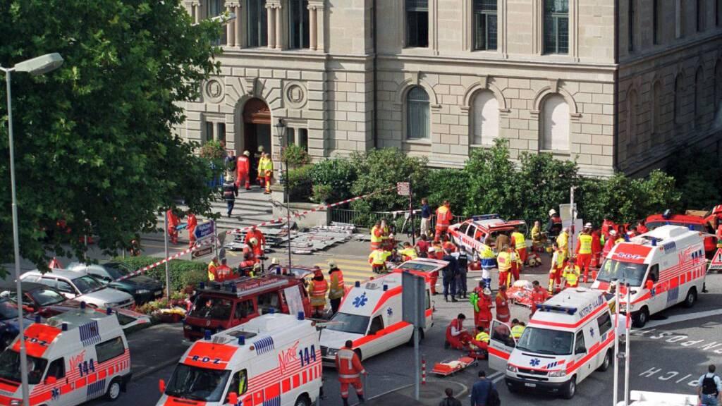 Das Attentat im Zuger Kantonsrat jährt sich zum 20. Mal
