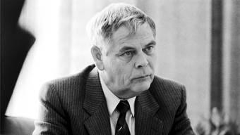 Der verstorbene P26-Kader Hans-Rudolf Walter Strasser 1990.