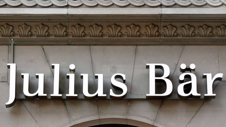 Sieht eine Dividendenausschüttung in zwei Teilen vor: die Bank Julius Bär.