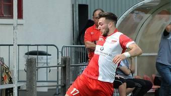 Emmanuel Mast erzielt in Bassecourt zwei der drei FCS-Treffer.