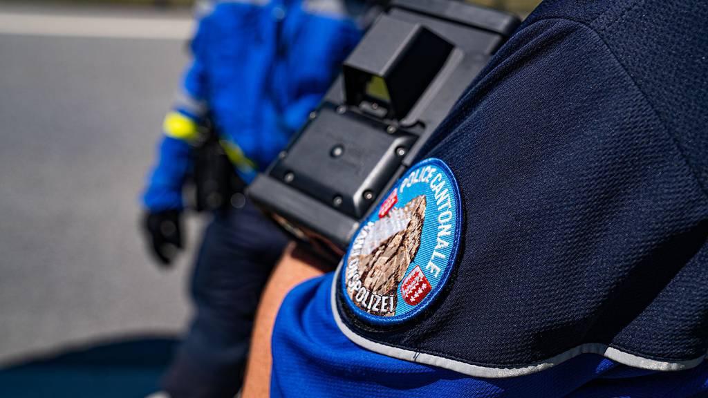 Walliser Polizei zieht 31-jährigen Raser aus dem Verkehr