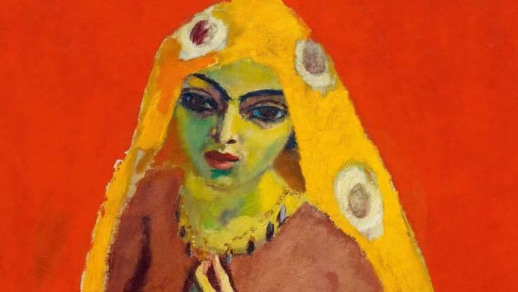 """Für 1,7 Millionen Franken hat das Zürcher Auktionshaus Koller """"Die Ägypterin"""" des aus Holland stammenden Künstlers Kees van Dogen versteigert. (Bildausschnitt)"""