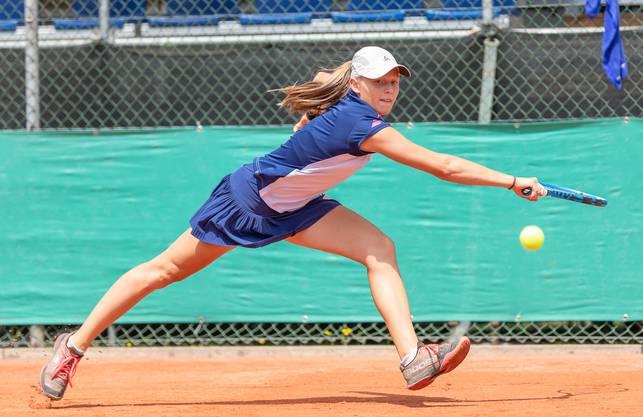 Sophie Lüscher aus Seengen ist bei ihren altersbedingt letzten Junioren Schweizer Meisterschaften an Nummer 3 gesetzt.
